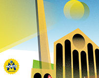 AMEBAPRISMATICA 2017 - Poster illustration