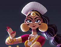 CDC - Indian Dancer