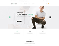 Crown-Fashion PSD Ecommerce Template