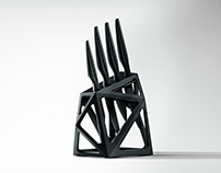 Product Design | Black Diamond Knife Block
