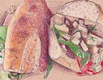 Haymaker's Corner Deli Sandwiches