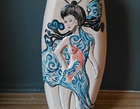 geisha decor