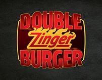 KFC - DOUBLE ZINGER BURGER