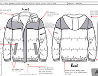 AW Outerwear Concept Board