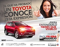 CAMPAÑA TEST DRIVE TOYOTA