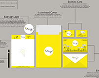 Ting Advertising Stationary and Presentation