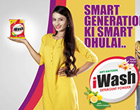 iWash - Publicity Design