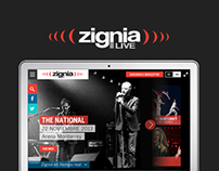 Zignia Live Website Design