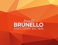 Restyling Logo Distilleria Brunello etichetta aperitivo