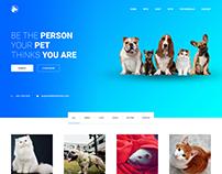 Pet Shop – PSD Template