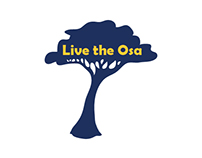 Live the Osa Logo, Banner, & Website
