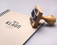 HERR KLAUS - DAS RESTAURANT // CORPORATE DESIGN