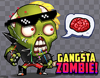 Gangsta Zombie Animation