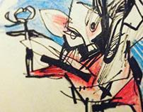 Sketchbook doodles 2016