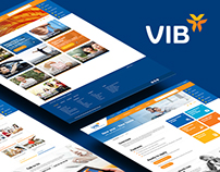 VIB Bank Redesign Concept