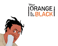 "Disney premiere ""Orange is the new black"""