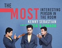 The Most Interesting Person In The Room KENNY SEBASTIAN