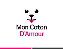 Mon Coton logo design