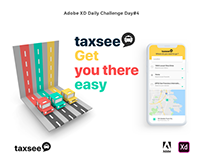 Taxsee - prototype for a mobile app to order a taxi