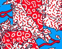 Christmas Art Market / poster