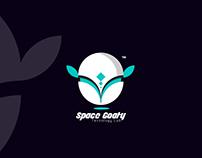 Space Goaty .. Logo