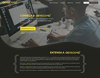 Layout site Devscore - 2020