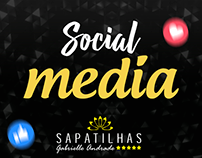 Social Media - Sapatilhas Grabrielle Andrade