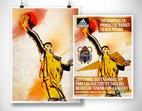 IIustración y diseño de póster | Adidas  - CB Canarias