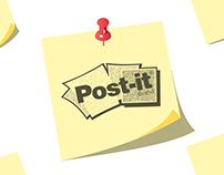 Advertising | Post-It Sticky Notes