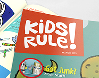 Kids Rule! - Magazine Layout