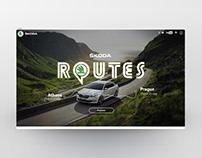 SKODA Routes