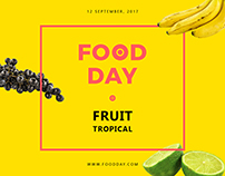 Food Day | Modern and Creative Templates Suite