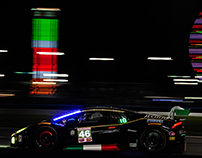 2107 Rolex 24 Hours at Daytona, GTD Class.