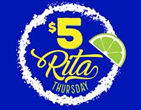 Chili's $5 Margarita Thursday Campaign