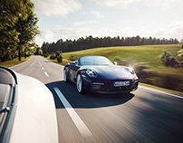 Porsche 911 Cabriolet 2019 Full CGI