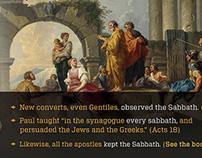 Infographic on the Sabbath
