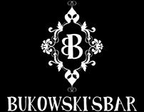 Bukowski's bar - Branding & menu