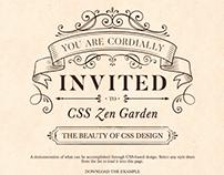 CSS Zen Garden Redesign
