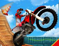Impossible Tracks bike stunts