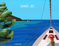 Summer 2015 - Sailing time