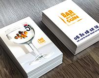 Logo et carte de visite pour un bar Marseillais