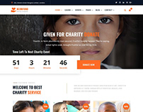 Neumfund - Charity and Donation HTML5 Template