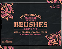 Material Texture Brushes for Procreate