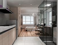 Short Rent Apartment Design