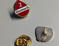 Donor lapel pins