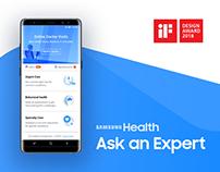 Samsung Health Ask an Expert