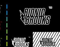 BIONIC BROOKS LOGO TREATMENT