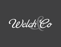 Welch & Co. Branding