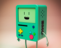 BMO 3D Illustration