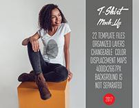 T-Shirt Mock-Up Vol.20 2017